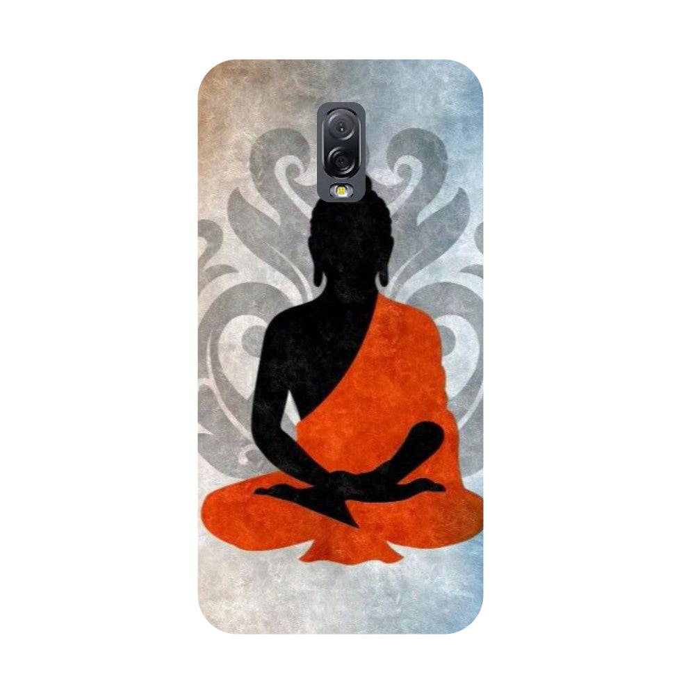 Yoga- Printed Hard Back Case Cover for Samsung Galaxy J7 Plus-Hamee India