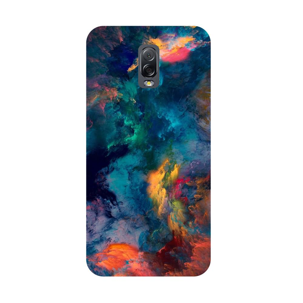 Abstract fumes- Printed Hard Back Case Cover for Samsung Galaxy J7 Plus
