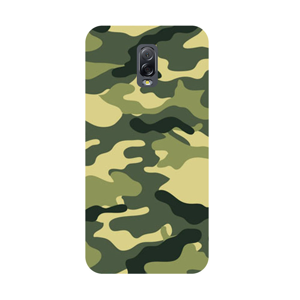 Army Camouflage- Printed Hard Back Case Cover for Samsung Galaxy J7 Plus-Hamee India