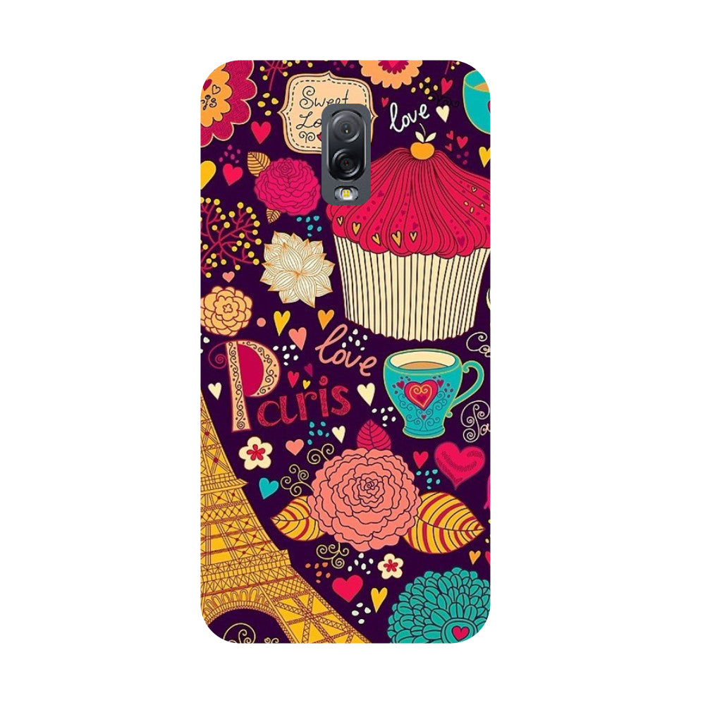 Cupcake- Printed Hard Back Case Cover for Samsung Galaxy J7 Plus-Hamee India