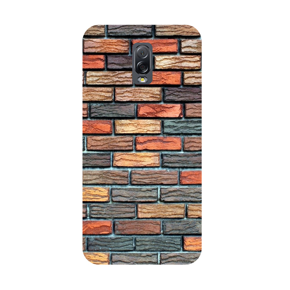 Brick wall- Printed Hard Back Case Cover for Samsung Galaxy J7 Plus-Hamee India