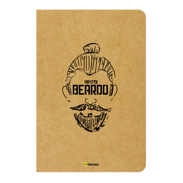 Beardo Unruled Craft Notebook-Hamee India