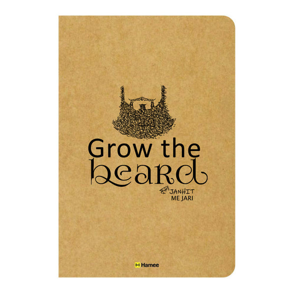 Grow Unruled Craft Notebook-Hamee India