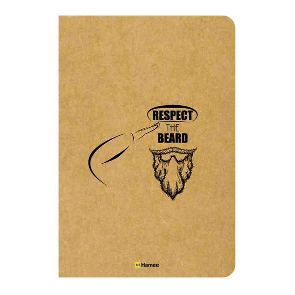 Respect Unruled Craft Notebook-Hamee India