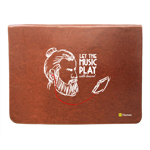 Beard Music 14 inch Laptop Sleeve-Hamee India