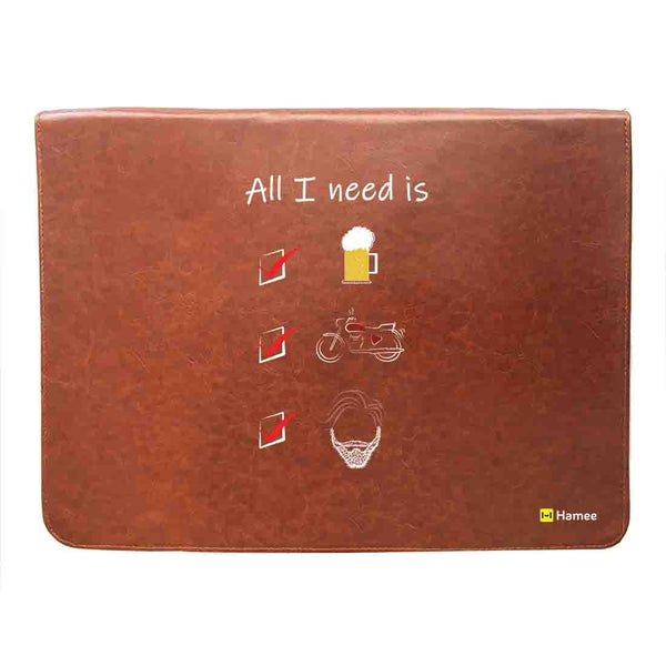 All I Need 14 inch Laptop Sleeve-Hamee India