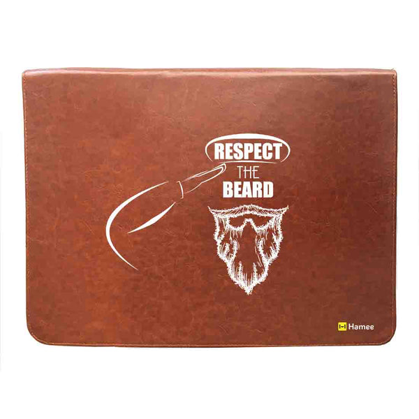 Respect - Leather File Folder-Hamee India
