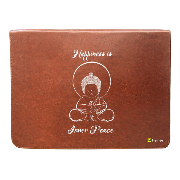 White Buddha 14 inch Laptop Sleeve-Hamee India