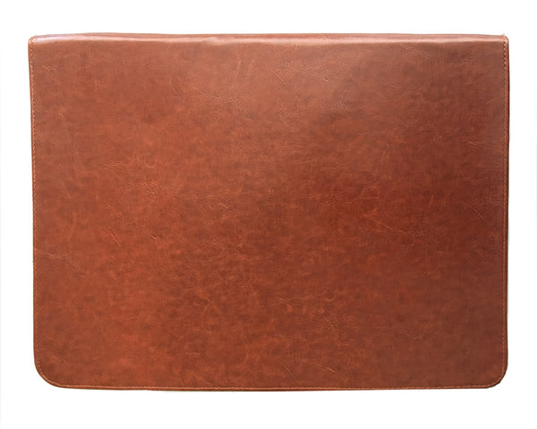 Hamee- Tan Brown Leather Document Holder-Hamee India