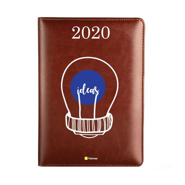2020 Dark Brown Leather Diary - Ideas