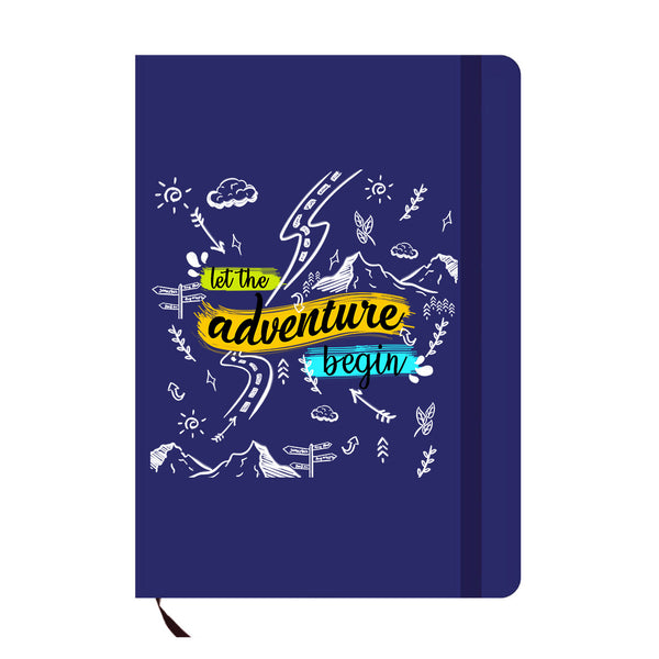 Adventure Doodles Blue A6 Pocket Diary-Hamee India