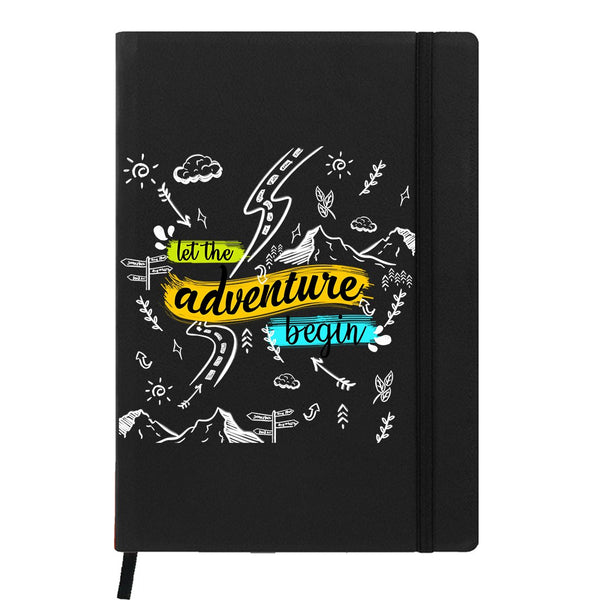 Adventure Doodles Black A6 Pocket Diary