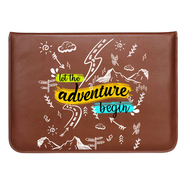 "Adventure Doodles MacBook Sleeve 13.3""-Hamee India"