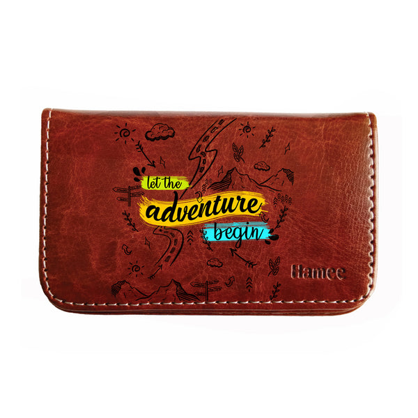 Adventure Doodles Business / Visiting Card Holder-Hamee India