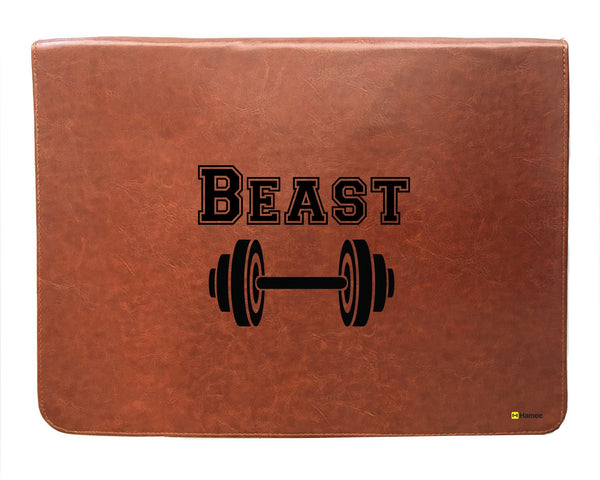 Beast - Leather File Folder-Hamee India