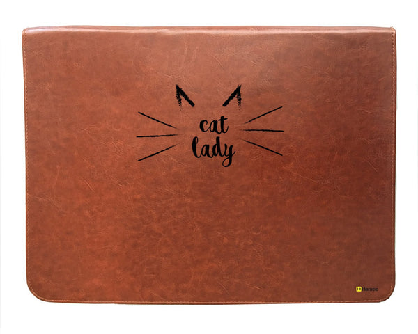 Cat Lady 14 inch Laptop Sleeve-Hamee India