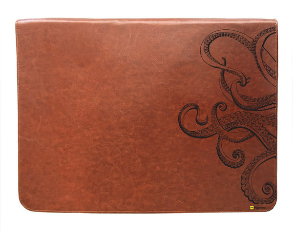 Hamee Original - Octopus - Tan Brown Leather 13 inch Document Holder