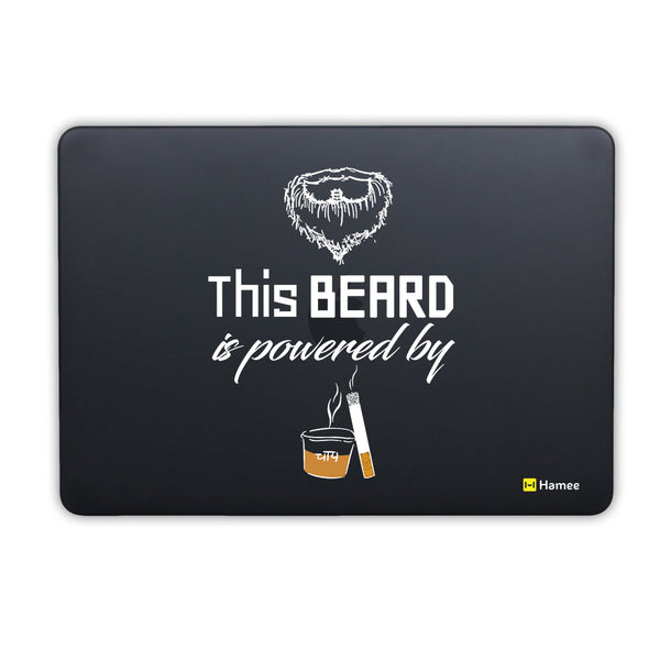Beard Power MacBook Air 13 Retina (2018) Cover-Hamee India
