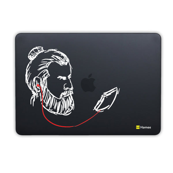 Beard Music MacBook Air 13 Retina (2018) Cover-Hamee India