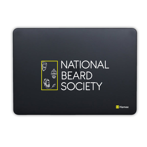 Beard Society MacBook Air 13 Retina (2018) Cover-Hamee India