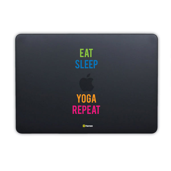 Eat Sleep Repeat MacBook Pro 13 Cover-Hamee India
