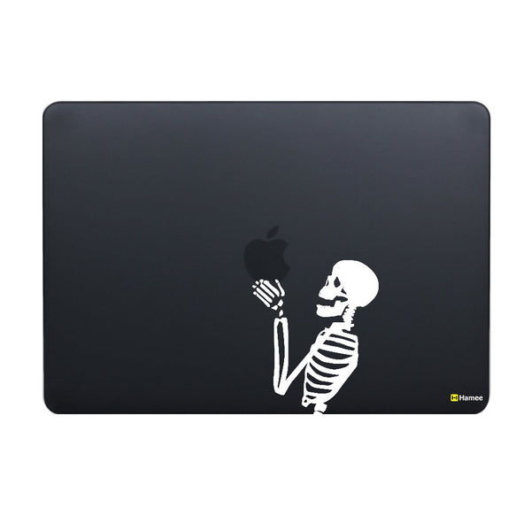 Hamee Original - Skeleton / Skull Bones - Matte Finish Slim Fit Shell Case for Apple Macbook Air 13""