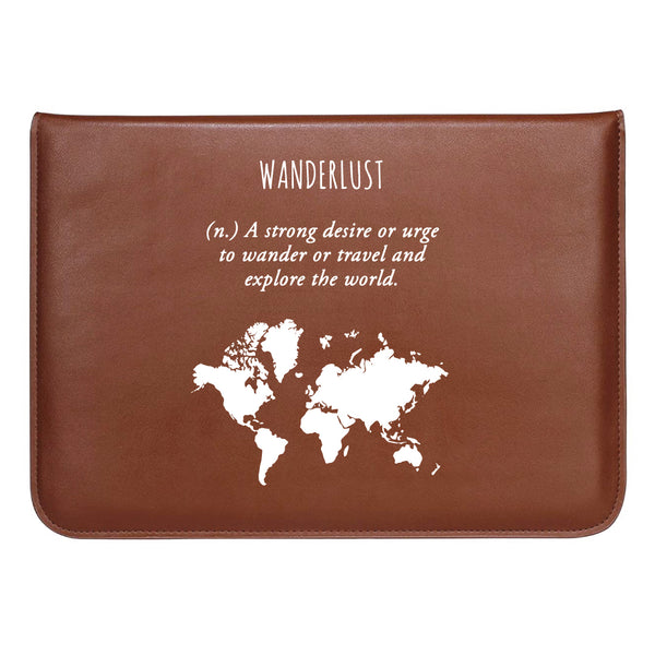 "Wanderlust - MacBook Sleeve 13.3""-Hamee India"