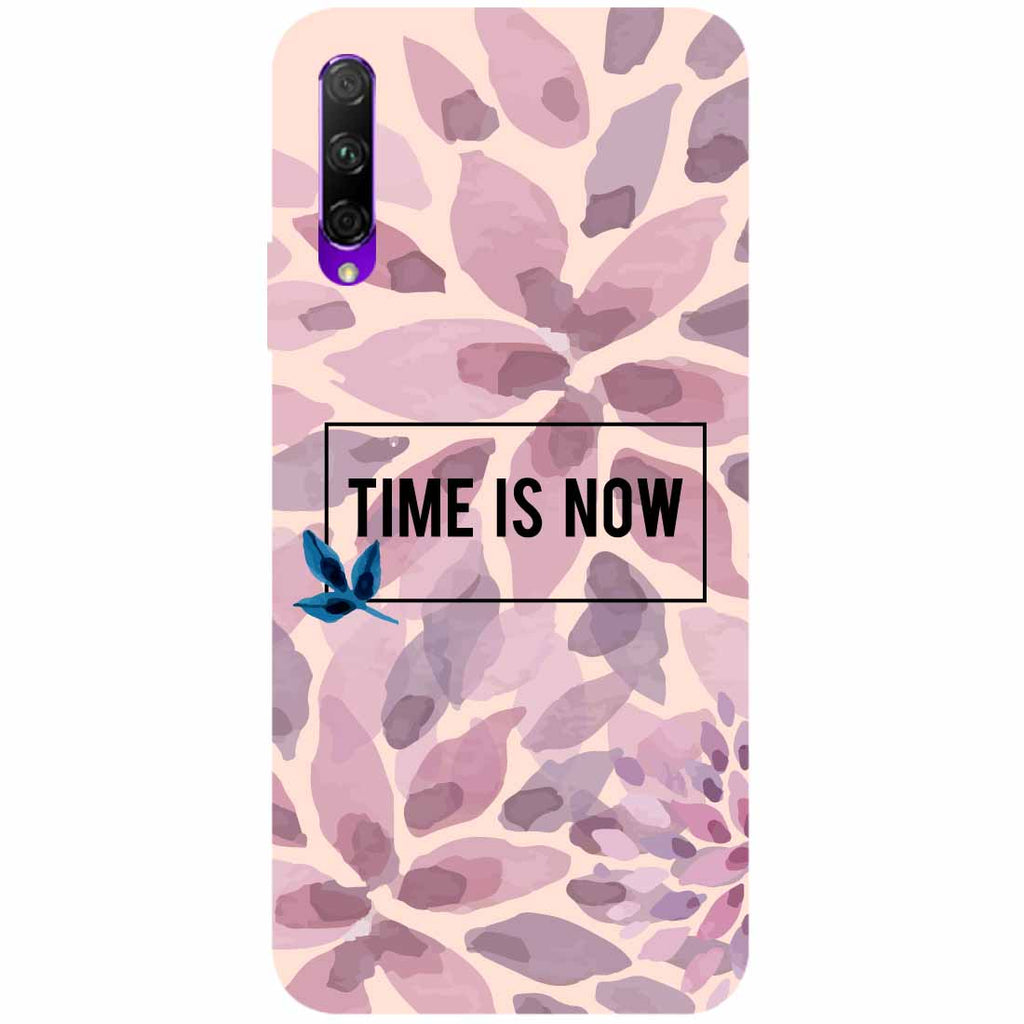 Time Is Now Honor 9X Back Cover