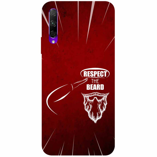 Respect Beard Honor 9X Back Cover