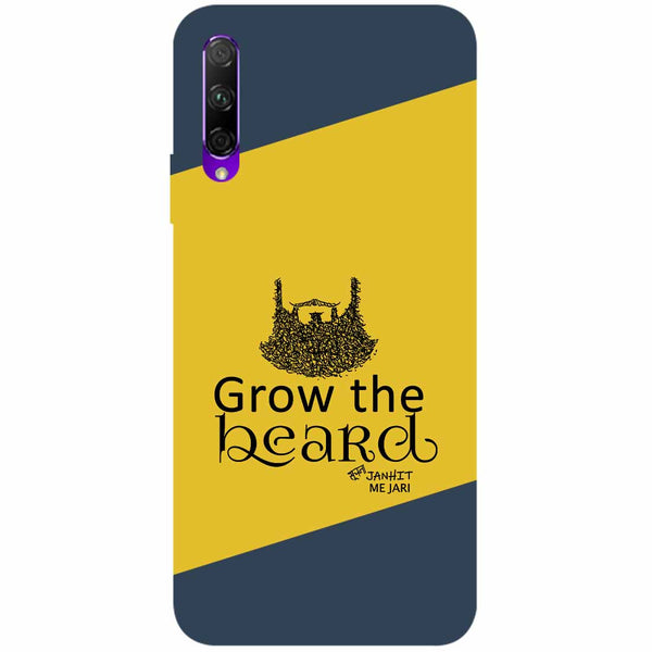 Grow Beard Honor 9X Back Cover