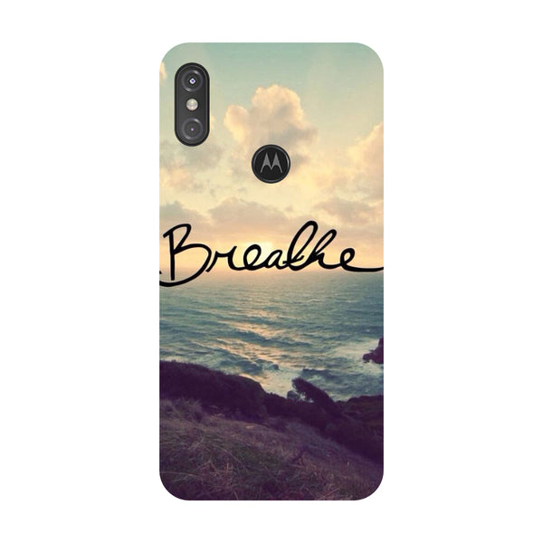 Breathe Motorola One Power Back Cover-Hamee India