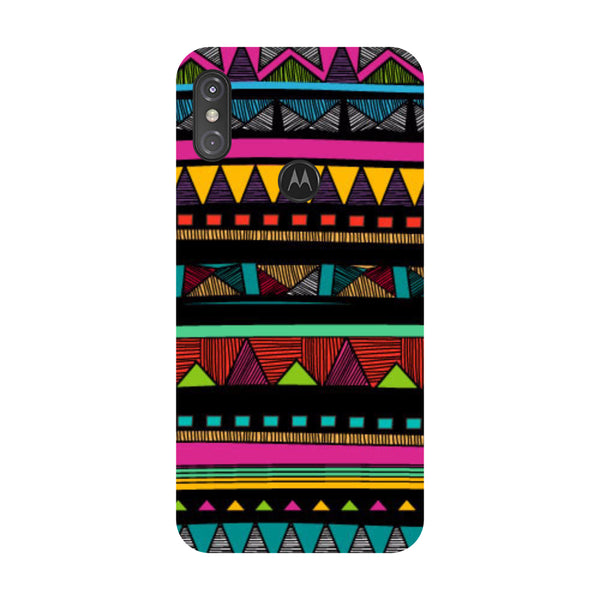 Tribal Motorola One Power Back Cover-Hamee India