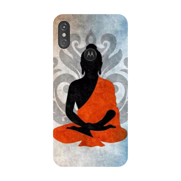 Buddha Relax Motorola One Power Back Cover-Hamee India