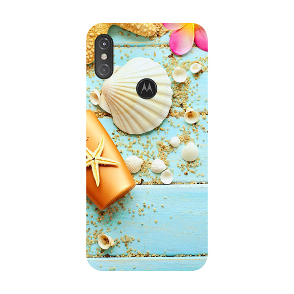 Shells Motorola One Power Back Cover-Hamee India