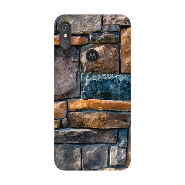 Bricks Motorola One Power Back Cover-Hamee India