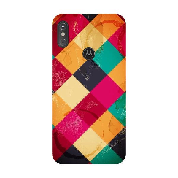 Weave Motorola One Power Back Cover-Hamee India