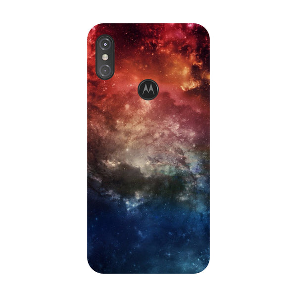 Outer Space Motorola One Power Back Cover-Hamee India
