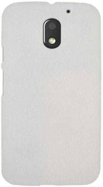 Hamee High Quality Back Case for Moto E3 (White)-Hamee India