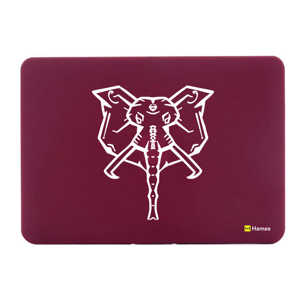 "Elephant Wine Red MacBook Air 13"" Cover-Hamee India"