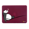 "Relax Panda Wine Red MacBook Air 13"" Cover-Hamee India"