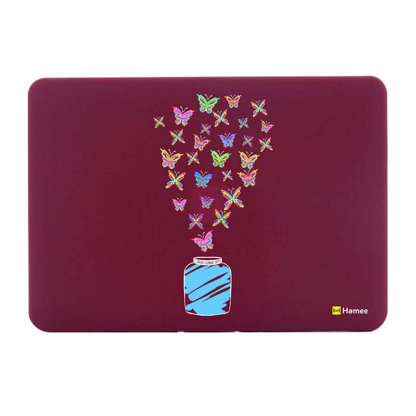 "Adventure - Wine Red MacBook Air 13"" Cover-Hamee India"
