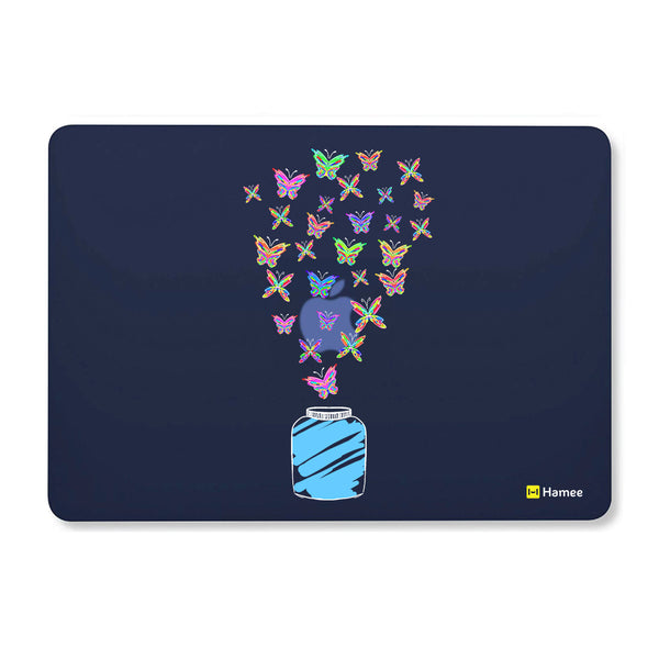 "Adventure - Navy Blue MacBook Air 13"" Cover-Hamee India"