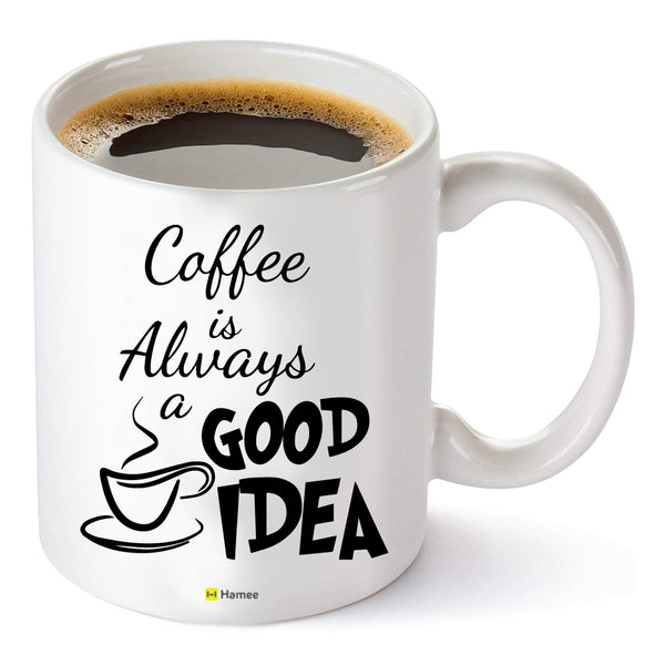 Good Idea - White Coffee Mug