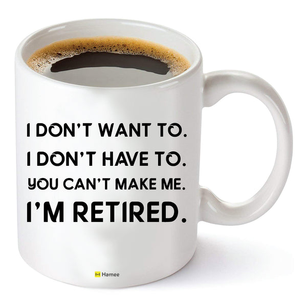 Retired - White Coffee Mug-Hamee India