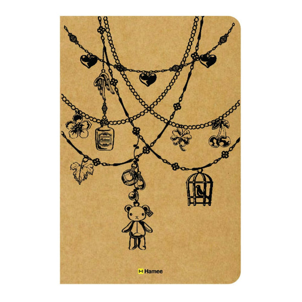 Chains Ruled Craft Notebook-Hamee India