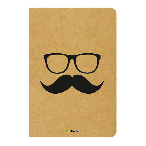 Gentleman Ruled Craft Notebook-Hamee India