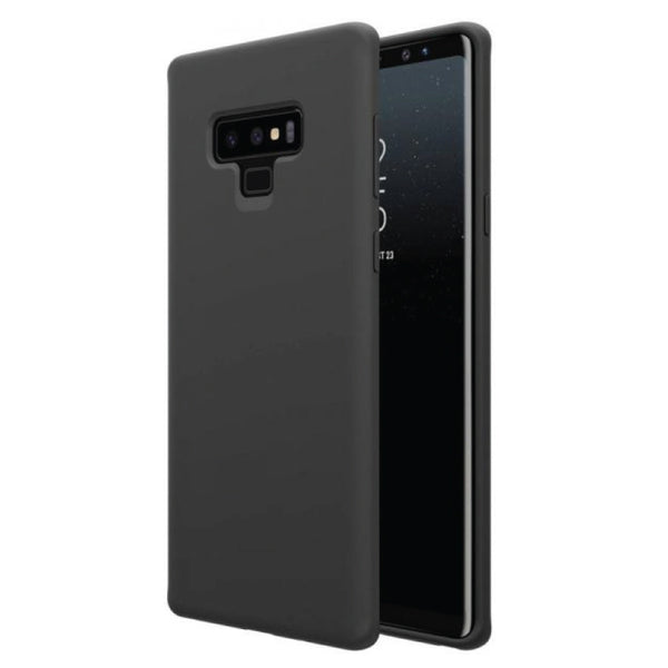 Black Soft TPU Case for Samsung Galaxy Note 9-Hamee India