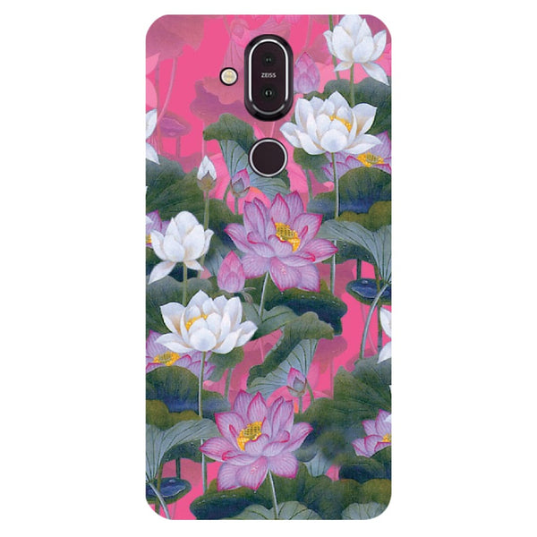 Lotus Valley Nokia 8.1 Back Cover-Hamee India