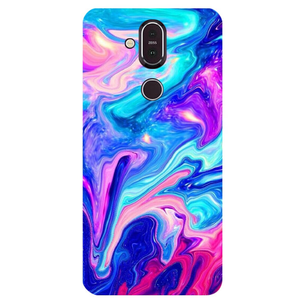 Paint Nokia 8.1 Back Cover-Hamee India