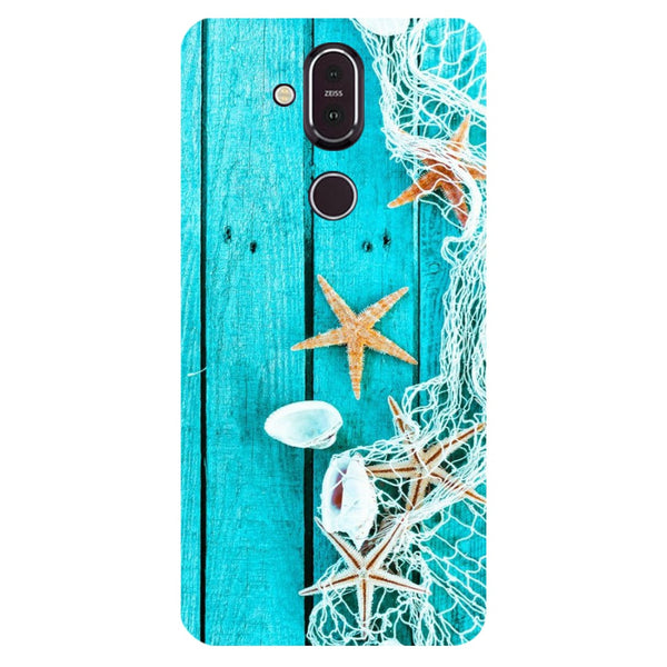 Sea Nokia 8.1 Back Cover-Hamee India